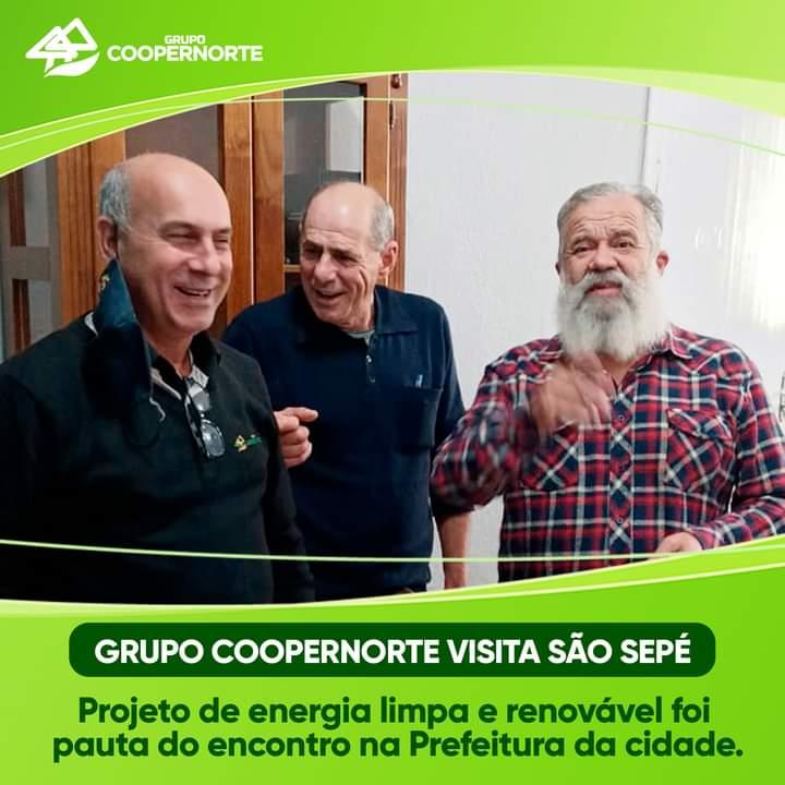 Grupo Coopernorte visita município de São Sepé