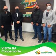 Coopernorte recebe visita do prefeito de São Sepé